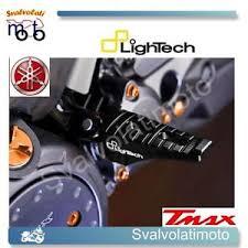 pedane t max 530 yamaha tmax t max 530 2012 coppia poggiapiedi lightech pedane