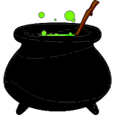 halloween witch cliparts free download halloween witch pot clipart clipartxtras