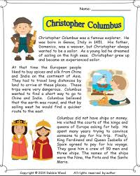 christopher columbus grammar review wh questions and