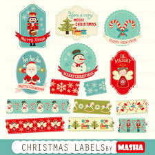 christmas clipart for labels clipart collection holiday