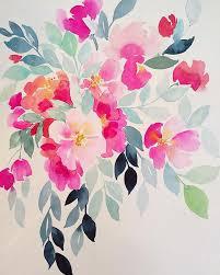 best 25 watercolor flowers ideas on pinterest flower watercolor