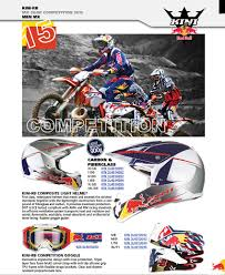 light motocross helmet mx gear men kid u2014 kini redbull kinirb kini rb