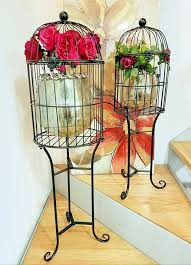 How To Decorate A Birdcage Home Decor Birdcage Home Decor Birdcage Decor Ideas With Birdcage Home Decor