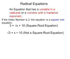 Simplifying Radicals With Variables Worksheet How To Solve Square Root Equations With Exponents Jennarocca