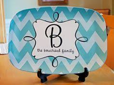 personalized serving platters custom serving platter plates monogrammed and personalized tray