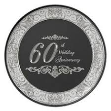 60th wedding anniversary plate 60th wedding anniversary melamine plate custom plates