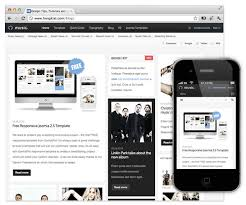 joomla blank template top 10 free responsive joomla themes hongkiat