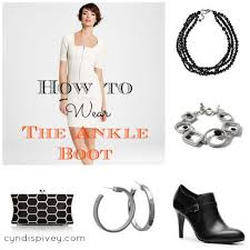 how to wear the ankle boot grace u0026 beauty