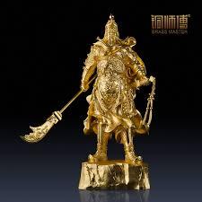 where to buy gold foil aliexpress buy gold foil guan yu statue home office
