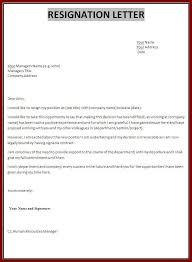 new job resignation letter letter idea 2018