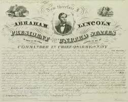 the emancipation proclamation document abraham lincoln