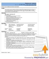 Administrative Assistant Resume Template Word Resume Template Objective For Administrative Inside 23 Astonishing