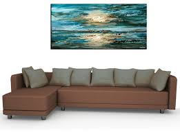 Contemporary Abstract Paintings Modern Living Room San - Modern living room furniture san francisco