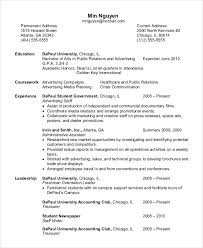 On Campus Job Resume Sample by Personal Trainer Resume Example 5 Free Samples Examples Format