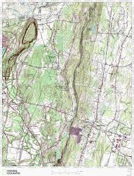 Granby Colorado Map by Metacomet Trail Hiking Map West Suffield