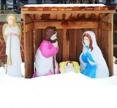 outdoor nativity set lovetoknow