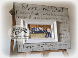 50th wedding anniversary gifts for parents 50th anniversary gifts parents anniversary gift for all that