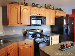 kitchen cabinets without crown molding kitchen cabinet makeover reveal how to nest for less
