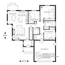 open kitchen house plans house plan w3284 cig detail from drummondhouseplans com