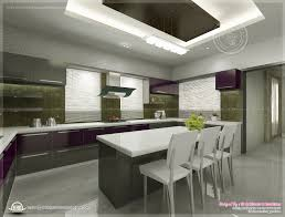 kitchen interior views by ss architects cochin kerala home