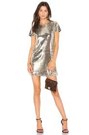 sequin dress line dot soleil sequin dress in gold revolve
