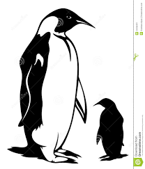 emperor penguin clipart black and white clipart panda free