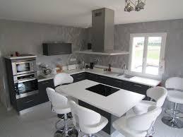cuisine blanche grise cuisine blanche et noir deco cuisine blanche cuisine blanche et