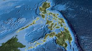 Sattelite World Map by Glide Over The Satellite Map Of Philippines Outlined Motion