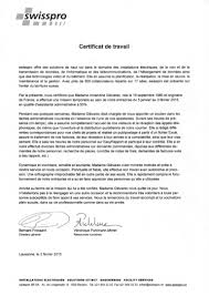 Resume With Salary Requirement Certificat De Travail Swisspro