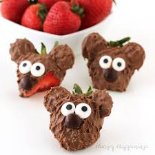 strawberry dipped in chocolate chocolate covered strawberry bears decorated berries for