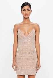 embellished dress embellished dresses glitter beaded dresses missguided