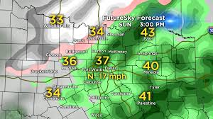 Weather Map Dallas by The Latest On Sunday Winter Weather Potential Cbs Dallas Fort