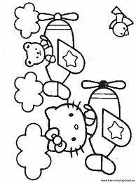 coloring pages kitty printable coloring pages