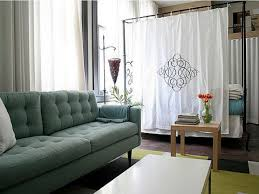 living room nice furniture profuse nice white fabric room divider