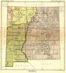 New Mexico Maps by Indian Land Cessions In The U S New Mexico 1 Map 44 United