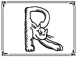 letter r cats animal style alphabet coloring pages www rea u2026 flickr