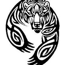 the 25 best tribal bear tattoo ideas on pinterest tribal bear