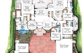 mediterranean floor plans mediterranean house plans architectural designs small luxury 3