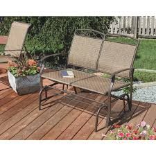 Wicker Glider Patio Furniture - outdoor expressions greenville double glider tjf t011 do it best