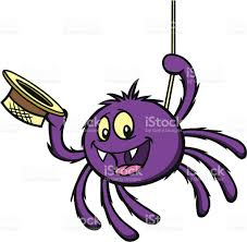 purple spider clipart u2013 clipart free download