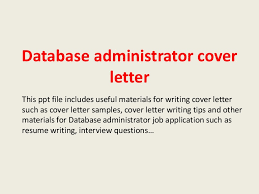 dba cover letter awesome oracle dba cover letter sample 27 for pr