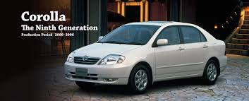 toyota quotes toyota global site corolla the ninth generation 01