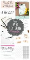 free hand lettering printables u create bloglovin u0027