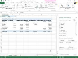 how to manually create a pivot table in excel 2013 dummies