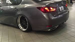 lexus gs350 slammed wife u0027s 2015 lexus gs350 youtube