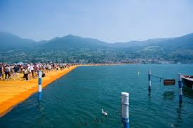 Floating Piers by File Iseo Floating Piers 4 Jpg Wikimedia Commons