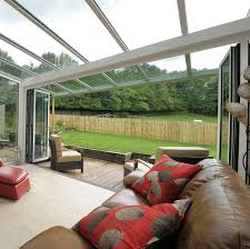 glass canopies patio canopies by stormclad