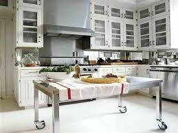 kitchen island steel stainless steel island eat in kitchen floor plans stainless steel