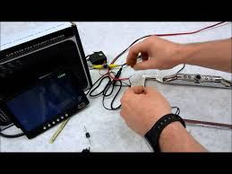 how to wire your rear view camera with an override switch youtube