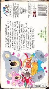 the adventures of scamper the penguin noozles koala bear magic vhscollector com your analog